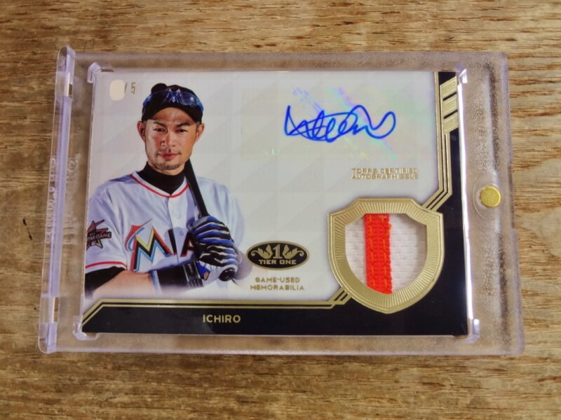 2018 TOPPS TIER ONE イチロー