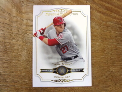 2012 TOPPS MUSEUM COLLECTION マイク・トラウト